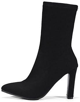 Desy scarpa scarpa scarpa da donna materiali personalizzato inverno novità stivali stivali moda grosso tacco a punta stivali al polpaccio per casual ufficio & carriera, US8   EU39   UK6   CN39 B0773LVWZW Parent | Design ricco  | Miglior Prezzo  6c4ade