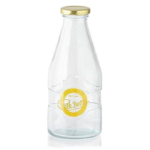 Kilner 1 Pint Milk Bottles 20oz - Vintage School Style