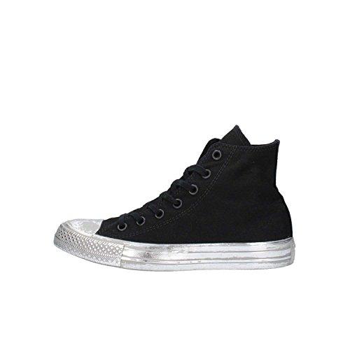 Converse - 156763c Ct As Toile Couleur Toile, Sneakers Unisexe, Noir / Argent Nero Argento