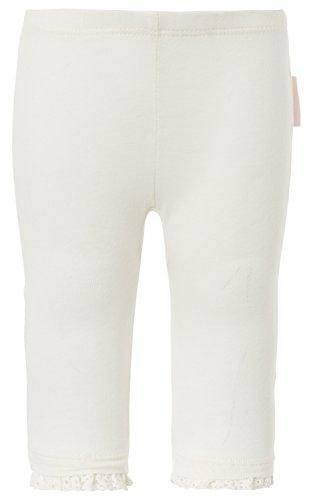 Noppies Baby - Mädchen Legging G ankle Lyn, Gr. 62, Elfenbein (Off White C010)