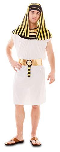 Enter-Deal-Berlin Herren Kostüm Pharao Größe 52 ( M/L ) weiß gelb ()
