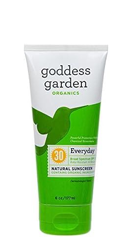 Goddess Garden Sunscreen - Organic - Natural - Sunny Body - Spf 30 - 6 Oz