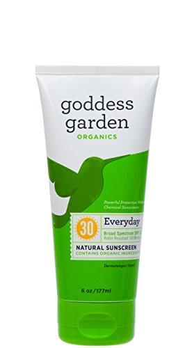 Organics Spf 30 Sunscreen (Goddess Garden Sunscreen - Organic - Natural - Sunny Body - Spf 30 - 6 Oz)