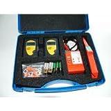KURTH KE6301 Leitungssucher und LAN-Test Kit im Geraetekoffer bestehend aus KE301 ohne Schutztasche und 2x KE6000 incl. Batterien