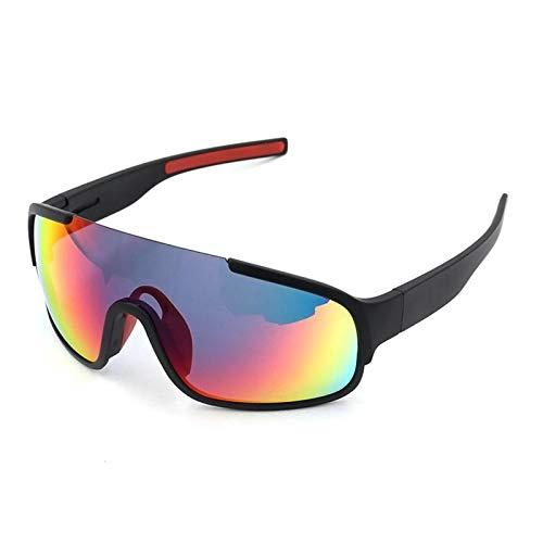 Radbrille Wechselgläser Fahrradbrille Polarisiert Damen Herren Mountainbike Reitbrille Für Herren Und Damen Im Freien Mit Polarisiertem Reitspiegel 3 Tr90 Schwarz