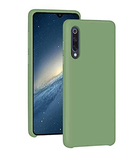 Jancyu kompatibel mit Galaxy A50 Hülle Galaxy A70 Hülle Silikon Handyhülle Ultra dünn Flüssiges Handy Backcover Anti-Scratch Anti-Rutsch Schutz Case (Grün, Galaxy A50) Galaxy Grün