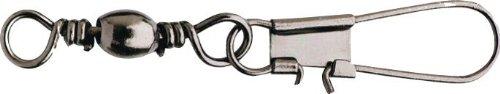 Spro Swivels Barrel Interlock Snap Größe 6 Wirbel Swivel Swivels Angelwirbel