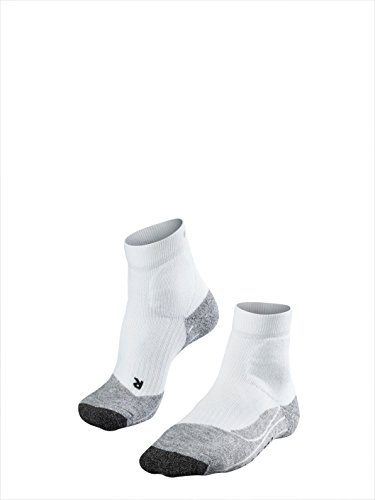 FALKE Damen Socken TE2 Short, white-mix, 41-42, 16834