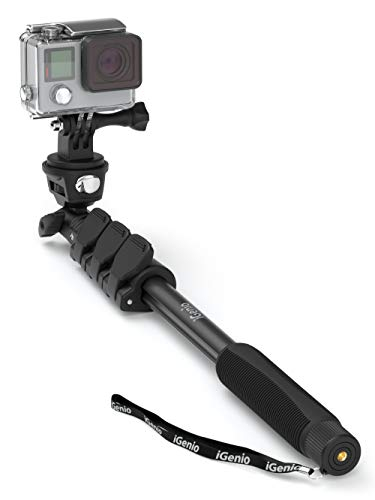 Professional 10-In-1 Selfie Stick Monopod For GoPro Hero 7 6 5 4 3, Action  Cameras, Digital Compacts - 15
