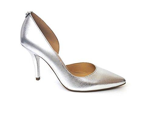 Michael Kors Damen Pumps *, Silber - Silber/Schwarz - Größe: 37 EU