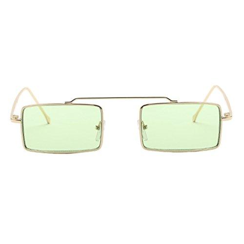 SUPOFAIXIN Square Sonnenbrillen Damenmode Unisex Square Frame Shades Sonnenbrillen Integrierte Gläser