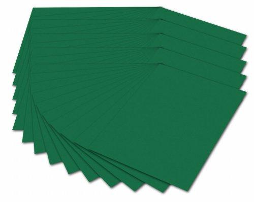 Folia 614/50 58 - Fotokarton 300 g/m², DIN A4, 50 Blatt, tannengrün