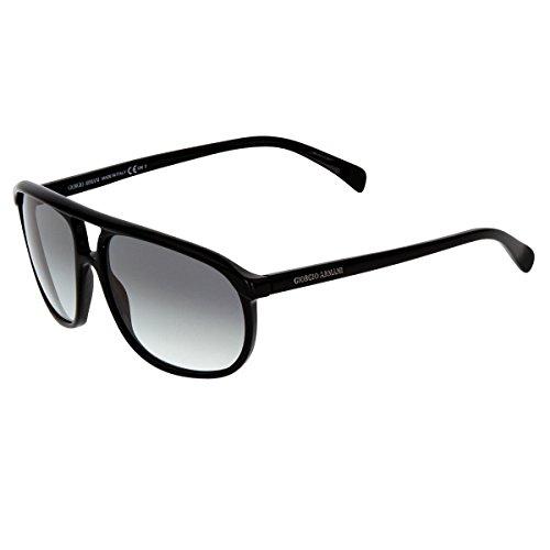 giorgio-armani-mens-927-black-frame-grey-shaded-lens-plastic-sunglasses