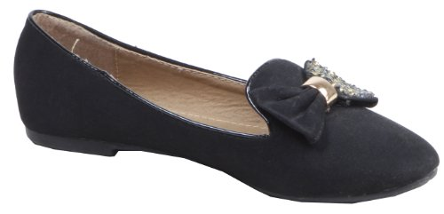 Jennika, Zapatos Cerrados Para Mujeres Negro (negro)