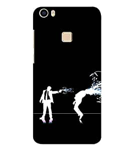 EPICCASE Shoot him Mobile Back Case Cover For Vivo V3 Max (Designer Case)