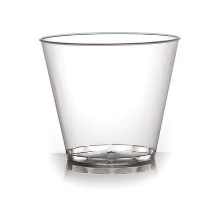 (Elegante Hartplastik Crystal Clear Party Tumbler/Dessert Cups – 142 ml (142ml) – 60 Stück)