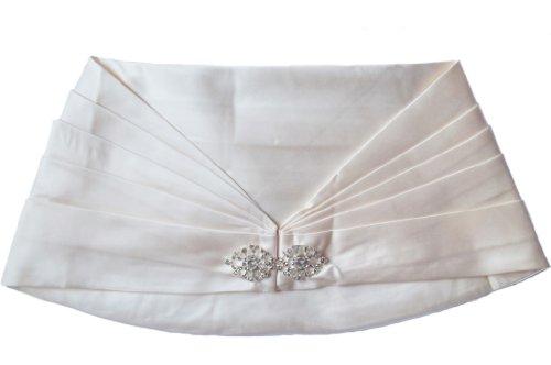 Alivila.Y Fashion -  Coprispalle  - Senza maniche  - Donna Cream