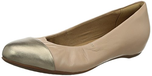 Clarks Alitay Susan, Damen Mokassin, Beige (Nude Leather), 41.5 EU (7.5 Damen UK)