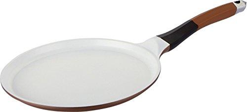 Poêle à crêpes en céramique aluminium Crêpière à induction Poignée en silicone 24/26 cm SALE