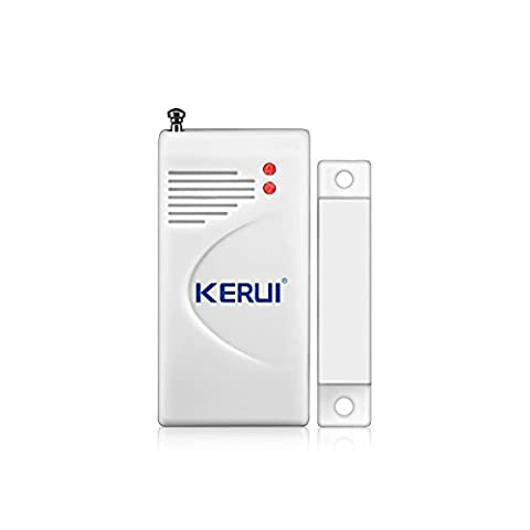 KERUI 433MHz Wireless Door/Window Magnetic Sensor For GSM Home Security Alarm Systems