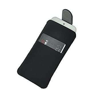 Bonne qualité iPhone 6 Ultra-Soft Genuine Leather Pull Up Tab de la couverture de la caisse du manchon avec emplacement pour carte pour Apple iPhone 6