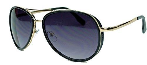 trendige-sonnenbrille-fur-herren-u-damen-pilotenbrille-mx2-schwarz-gold