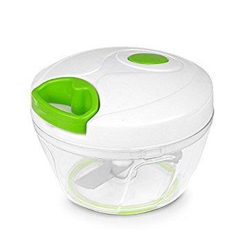 allomn multifuncional picadora manual de alimentos compacto y potente Hand Held Vegetal Chopper cocina herramientas accesorios de cocina para frutas cebollas garlics ensalada