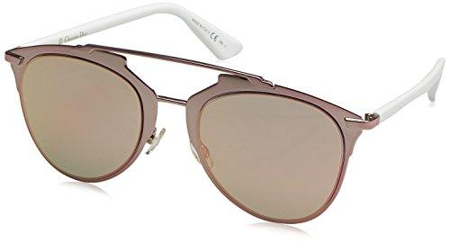 Dior Damen DIORREFLECTED 0J M2Q Sonnenbrille, Pink White Rose Gd Grey Speckled, 52