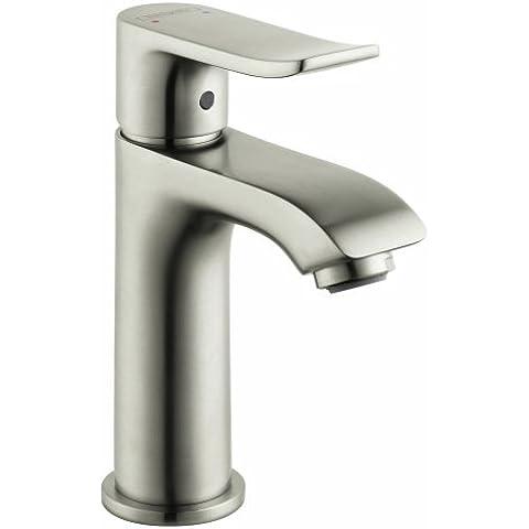 Hansgrohe 31088821Metris 100A foro singolo rubinetto in nichel spazzolato