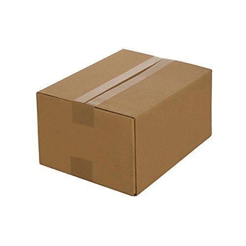 200 Faltkartons 200 x 150 x 90 mm, Verpackung Versand Schachtel aus Wellpappe Karton Kiste Postversand