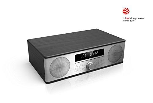 Sharp All in One Soundsystem 90W mit USB,DAB,DAB+, CD, Bluetooth, XL-B 715D, Schwarz