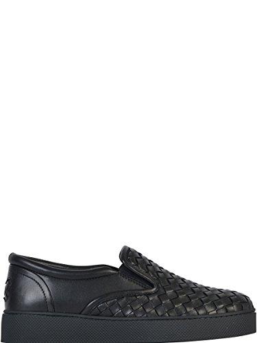 bottega-veneta-femme-370760v00131000-noir-cuir-chaussures-de-skate