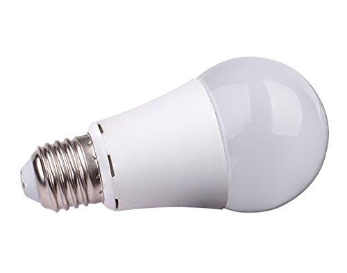 LED Birne (Glühbirnen Ersatz) 10W, neutral- weiß (4.000K), Abstrahlwinkel: 270°, Farbe: weiß, Linse: Milchglas, Fassung: E27, Eingangsspannung: 220- 240V (AC), Lm: 850Lm, CE/ RoHs, Dimmbar, 2 Jahre Garantie - Milchglas Led Birne