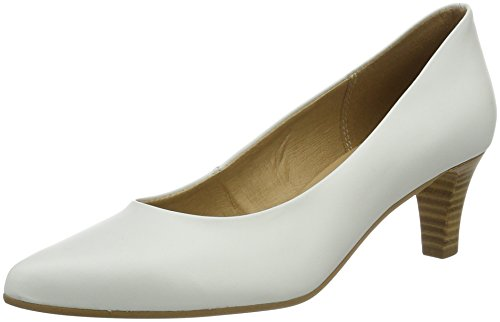 Tamaris Women 22440 Pumps White (bianco 100)
