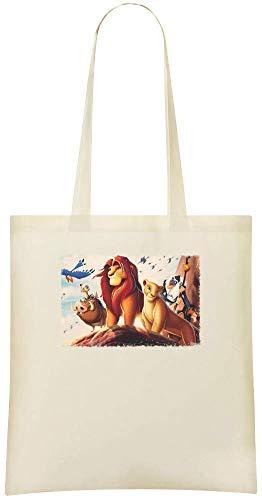 Preisvergleich Produktbild Der König der Löwen,  Jungle Lord - The Lion King Jungle Lord Custom Printed Shopping Grocery Tote Bag 100% Soft Cotton Eco-Friendly & Stylish Handbag For Everyday Use Custom Shoulder Bags