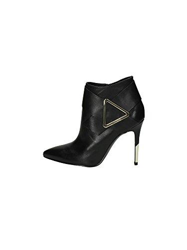 Übergröße: GUESS, Damen, Knöchelhohe Stiefelette Luciana leather mehrfarbig schwarz