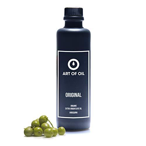 Essig und Öl Geschenkset | Hochwertiges 200ml Bio Olivenöl und 200ml Balsamico Essig Bio im Eichenfass gereift | Ideal als Gourmet Geschenkset