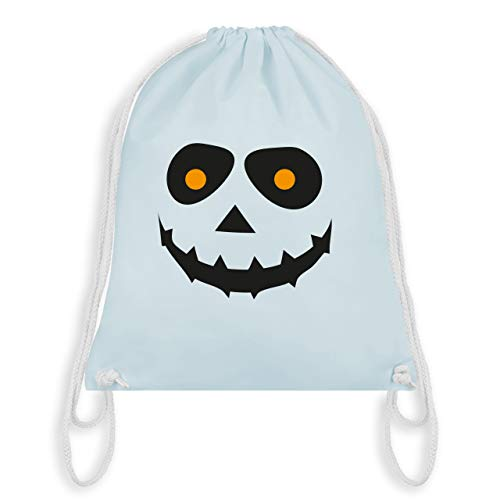 Halloween - Gruseliges Gesicht Fasching - Unisize - Pastell Blau - WM110 - Turnbeutel & Gym ()