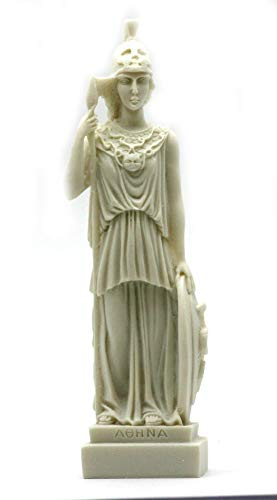 Desconocido Romana Griega Diosa ATENEA Minerva alabastro