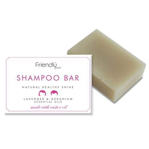 FRIENDLY SOAP | Natural Shampoo Bar | 4 x 95g (UK)