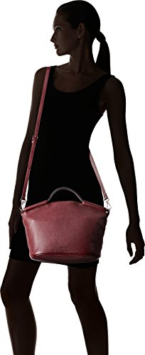 Ecco Sp Red cm Rot Doctors 2 Bag Damen Medium 14x23x34 Schultertasche rpnUxrqw