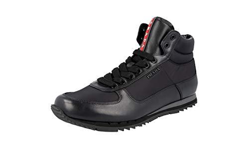 Prada 4T2782, Herren Sneaker, Schwarz - Schwarz - Größe: 44 EU (Pradas Für Männer)
