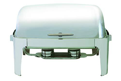 Update International (EC-15N) 8 qt Stainless Steel Round Chafer Quart Chafing Dish