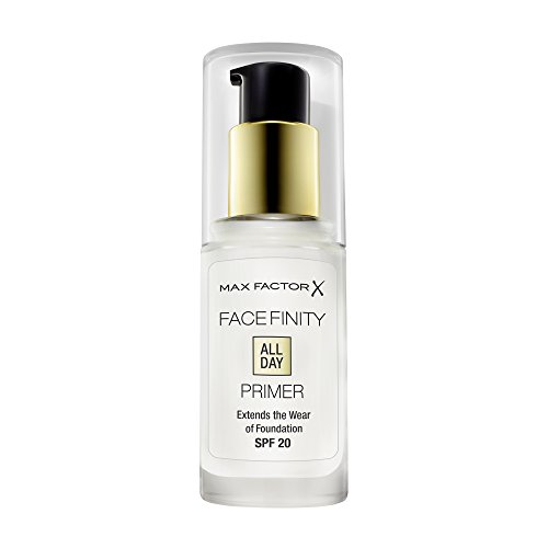 Max Factor Facefinity All Day Primer – Mattierende Make-Up Base für eine langanhaltende Foundation – Lichtschutzfaktor 20 – 1 x 30 ml