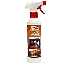 PYRO FEU 24501-12 Limpiacristales para chimeneas 500 ml Blanco y marrón