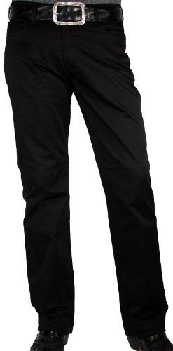 Otto Kern Jeans modello Ray, Deep-Black Denim, regular fit-30, 32, 34er + da 36lunghezza nero 48 IT (34W/30L)