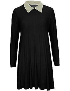 Baleza -  Vestito  - Basic - Maniche lunghe  - Donna