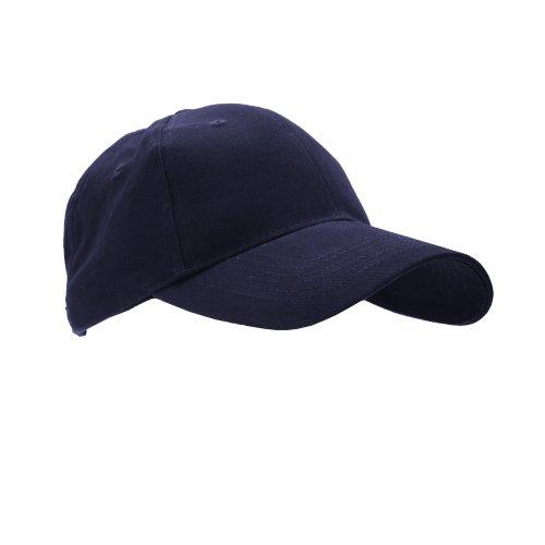 Anvil - Casquette de baseball - Adulte unisexe (Taille unique) (Bleu marine)
