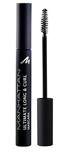 Manhattan 14470 Ultimate Long & Curl Mascara, black, 1er Pack (1 x 6 ml)