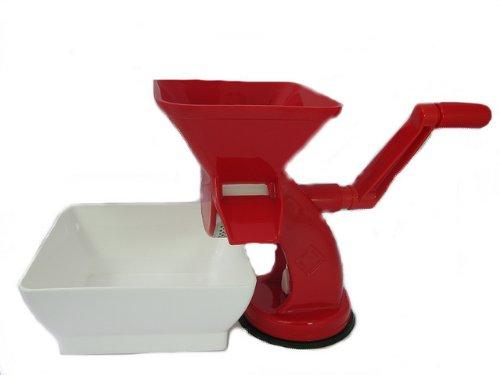Passapomodoro in polipropilene rigamonti master con vaschetta